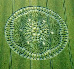 Buddhist Symbol Of Infinite Time & Wisdom Appears In Crop Fields | Strange