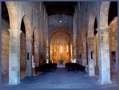 Dentro de la Catedral de la Canonica / Córcega / Foto: harold http://www.lucciana-mariana.com/decouverte-corse-a+canonica+cathedrale+medievale-946.html