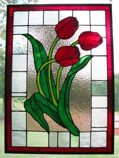 rubber stamps tulips - Google Search