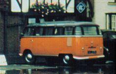 1956 Volkswagen T1 Bus, Stratford-upon-Avon, England