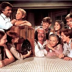 The Waltons. One of my all time favourite tv shows! Fabulous ensemble cast. I loved the period piece and the family really felt like a family. To me, The Waltons and Little House on the Prairie stand out as two brilliant family dramas that had the ability to elicit deep emotion like no others.