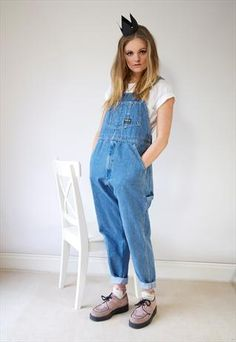 Uskees Ladies Denim Dungarees Available Size Uk 8 18