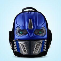 3D New Cartoon School Bags For Boys Little Children Backpacks Kids SchoolBag Cool Backpack School Mochila Escolar Infantil