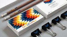 charte graphique pour le groupe ORIZONA design by kuskaa