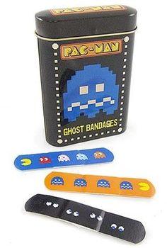 Pac Man Band-Aid
