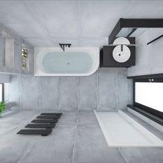 Dlažba Ebro #3ddesign #bathroomdesign #bathroomvisualization #ceramikanowagala #nowagala #ebro Bathtub, Bathroom, Standing Bath, Washroom, Bathtubs, Bath Tube, Full Bath, Bath, Bathrooms