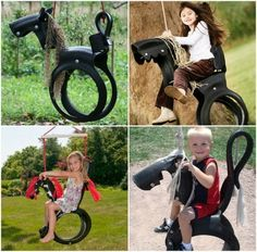Tyre Horse Swing Tutorial