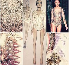 Embellished bodysuit- Julien McDonald