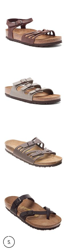 Strappy Birkenstocks--style, comfort, and a little something different. Pick your pair on SHOES.com.