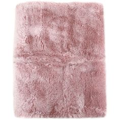 La Perla Home Pernula Faux Fur Throw ($1,060) ❤ liked on Polyvore featuring home, bed & bath, bedding, blankets, pink, faux fur bedding, fake fur throw, pink blanket, pink throw and pink bedding