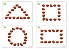 Capture décran à 18 Autumn Activities For Kids, Fall Preschool, Kindergarten Crafts, Math For Kids, Toddler Preschool, Preschool Activities, Crafts For Kids, English Worksheets For Kids, Kids Math Worksheets