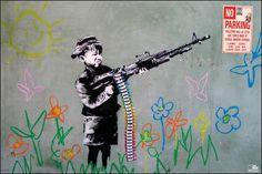 FAR21354 - Banksy - Crayon Shooter