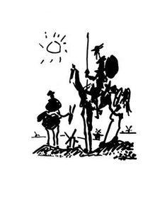 Pablo Picasso - Don Quixote - Art Prints Posters
