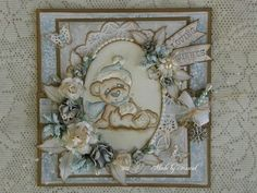 Christmas Bear, Little Christmas collection 2012, Magnolia stamps
