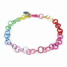 "CHARM IT! Rainbow Chain Bracelet - 7.5"" CHARM IT! Signature Accessories. $13.00. 7.5""; Fully Adjustable. Comes in Gift Packaging by Ks Charming Designs!. Made by CHARM IT! quality makers of girls charms and accessories. Save 55%!"