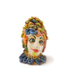 Handmade sculpture.  Material: Ceramics.  Size Height: 55cm Weight: 29cm Designer: Antonio Robustella Masterpiece 2013