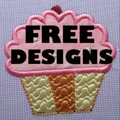 Whether you prefer in-the-hoop or appliqué designs, you'll find plenty of free embroidery machine designs here on Craftsy.