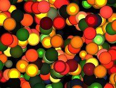 Okrąg, Światło, Kolorowe, Tle, Okrąg Tła