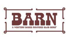 Barn Free Font on Behance