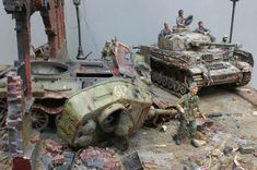 Panzer IV and his victim T-34