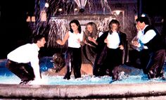 Pin for Later: 55 Times You Wanted to Be Part of the Friends Crew We Always Wished We Could Splash Around That Fountain