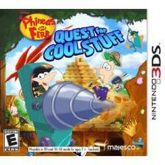 3DS Disney Phineas and Ferb Quest for Cool Suff