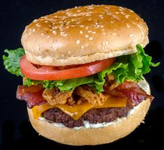 Awesome Burger from Arrowhead Stadium, home of the Kansas City Chiefs (photo: ARAMARK Sports & Entertainment)