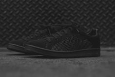 The adidas Originals Stan Smith Primeknit Gets Blacked Out