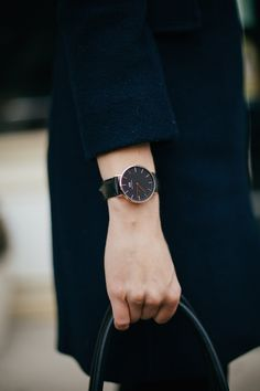 Daniel Wellington Classic Black Watch | Charmingly Styled
