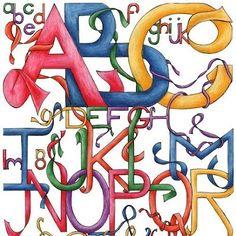Entrelazando el alfabeto