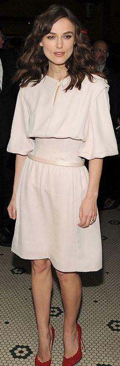 Keira Knightley in Chanel dress