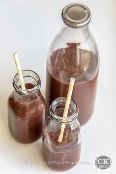 KETO Chocolate Milk! Favorite childhood drink, or favorite adult cooler. Either way, this stuff is better than any other Chocolate Milk you've ever had!