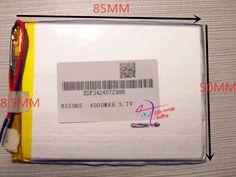 $13.69 (Buy here: https://alitems.com/g/1e8d114494ebda23ff8b16525dc3e8/?i=5&ulp=https%3A%2F%2Fwww.aliexpress.com%2Fitem%2Fbest-battery-brand-1PCS-free-shipping-Size-855085-3-7V-4000mah-Lithium-polymer-Battery-For-iPad%2F32664262316.html ) best battery brand 1PCS free shipping Size 855085 3.7V 4000mah Lithium polymer Battery For iPad 3 Tablet PCs PDA Digital Product for just $13.69
