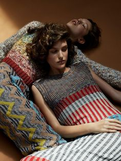 Harper's Bazaar Russia FW Trends 2017 Ella King and Iris Landstra by Agata Pospieszynska - Fashion Editorials