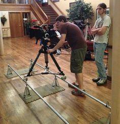 DIY Camera Dolly & Track System
