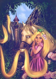1000 images about disney rapunzel on pinterest rapunzel - Raiponce maximus ...