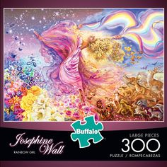 Coming soon from Buffalo Games! Look for it during the holidays. Puzzle Shop, Imagination Art, Buffalo Games, Josephine Wall, Jigsaw Puzzles, Rainbow, Wall Art, Artwork, Forests