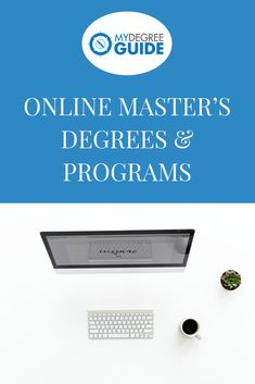 Searching for Online Master's programs and degrees? There's still so much to learn about your field, career opportunities you haven't considered, and income potential you haven't yet dreamt about. Online Masters Programs, Online Masters Degree, Online Programs, Master Degree Programs, Education Degree, Education College, Education System, Mba Degree, Online College Degrees