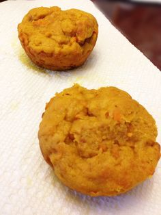 Pumpkin Sweet Potato Carroty Muffins. Veggies in a muffin. Healthy, tasty, GET IT!