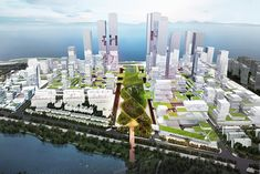 KAMJZ Reveals Proposal for Shenzhen Bay Super City Masterplan,Courtesy of KAMJZ Architects
