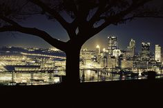Pittsburgh from the West End overlook. One of my dads favorite places to see the city The Places Youll Go, Great Places, Places To Go, Beautiful Places, Beautiful Soul, Pittsburgh Pa, Seattle Skyline, Scenery, World