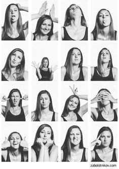emotions board poses ideas expressions photo