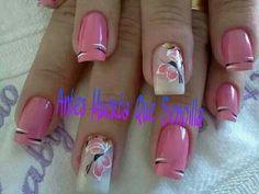 Hermosas uñas...