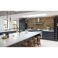 Shaker Kitchens, The Shaker Kitchen Company, Shaker Style Kitchens Kitchen Diner Extension, Open Plan Kitchen Diner, Open Plan Kitchen Living Room, Home Decor Kitchen, Home Kitchens, Cosy Kitchen, Modern Kitchens, Open Plan Living, Country Kitchen