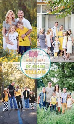A must pin post!  Over 100 ideas for outfits for your next family pictures!  check them out on Capturing-Joy.com!