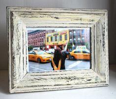 Diy Distressed Wood Frame Colleen Eve Wooden Picture Frames Make