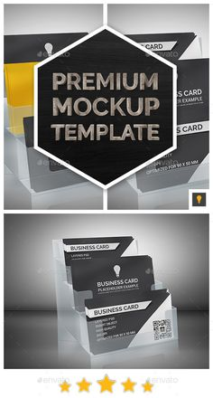 Business Card Mockup — Photoshop PSD #card #mockup • Available here → https://graphicriver.net/item/business-card-mockup/7694682?ref=pxcr