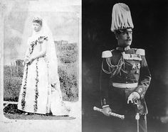 gr-Princess Sophie of Prussia and Prince Constantine of Greece (later Constantine I) in Athens, Greece on 27 October 1889. Six children.