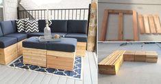 Cómo hacer asientos modulares de madera