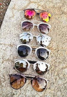 e60ecb0dbc1 Modern Large Mirror So Reflected Brow Bar Metal Frame Designer Sunglasses  10096 Big Sunglasses
